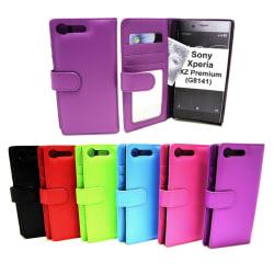 Plånboksfodral Sony Xperia XZ Premium (G8141) Lila