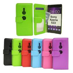 Plånboksfodral Sony Xperia XZ2 (H8266) Röd