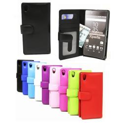 Plånboksfodral Sony Xperia Z5 Premium (E6853) Ljusblå
