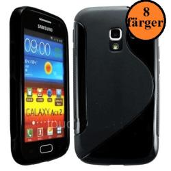 S-line skal Samsung Galaxy Ace 2 (i8160) Vit