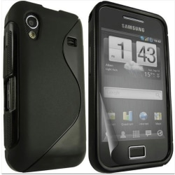 S-line skal Samsung Galaxy Ace (s5830) Svart
