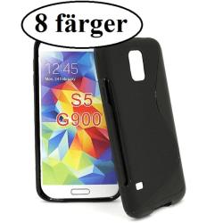 S-line skal Samsung Galaxy S5 / S5 Neo (G900F / G903F) Clear
