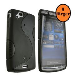 S-line skal Sony Ericsson Xperia Arc Blå