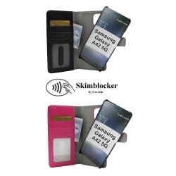 Skimblocker Magnet Fodral Samsung Galaxy A42 5G Svart