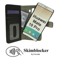 Skimblocker Magnet Wallet Huawei Mate 10 Pro
