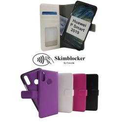 Skimblocker Magnet Wallet Huawei P Smart 2019 Svart
