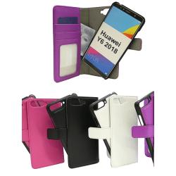 Skimblocker Magnet Wallet Huawei Y6 2018 Svart