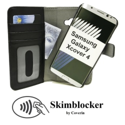 Skimblocker Magnet Wallet Samsung Galaxy Xcover 4 (G390F)