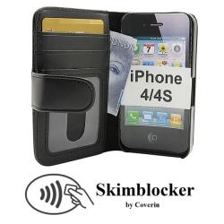 Skimblocker Plånboksfodral iPhone 4/4S