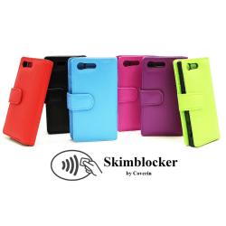 Skimblocker Plånboksfodral Sony Xperia X Compact (F5321) Svart
