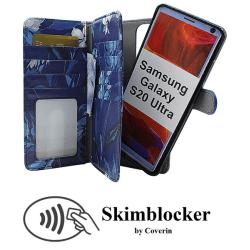 Skimblocker XL Magnet Designwallet Samsung Galaxy S20 Ultra