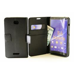 Standcase TPU Wallet Sony Xperia E4 (E2105)