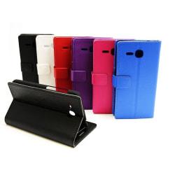 Standcase Wallet Huawei Ascend Y600 Svart