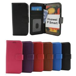 Standcase Wallet Huawei P Smart (FIG-LX1) Svart