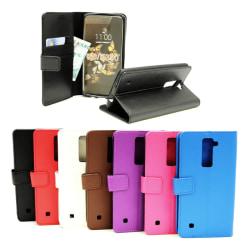 Standcase Wallet LG K8 (K350N) Svart