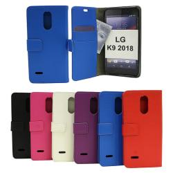 Standcase Wallet LG K9 2018 (LMX210) Svart