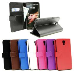 Standcase Wallet LG X Screen (K500N) Blå