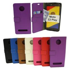 Standcase Wallet Moto Z2 Play Svart