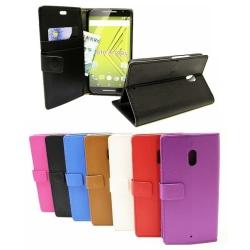 Standcase wallet Motorola Moto X Play Lila