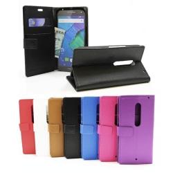 Standcase wallet Motorola Moto X Style Svart
