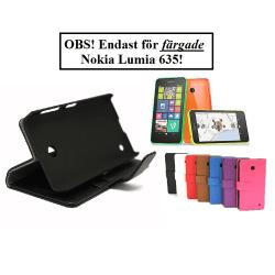 Standcase wallet Nokia Lumia 635 Svart