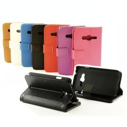 Standcase wallet Samsung Galaxy Trend 2 / 2 LITE (G313H/G318H) Svart