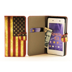 Standcase Wallet Sony Xperia E3 (D2203)