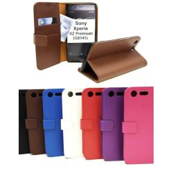 Standcase Wallet Sony Xperia XZ Premium (G8141) Lila