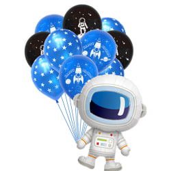 10 / 15st Outer Space Party Astronaut Balloons Galaxy Theme Birt C
