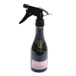 280 ml hårsprayflaska salong vatten sprayflaska hår frisör Black 25*6.4