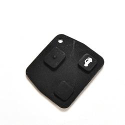 3 knappar bilfjärrnyckelfodral gummikudde för Toyota Avensis Cor