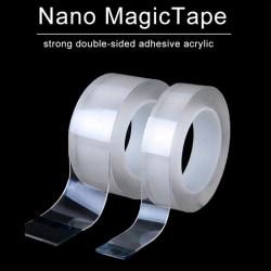 300 cm nano tejp dubbelsidig tejp transparent NoTrace återanvändbar 20MM