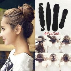 4st / set frisyr twist maker verktyg Dount Twist Hair Accessorie 4pcs