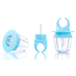 8ML Diamond Ring Shape Lip Gloss Tube Tom Refillable Cosmetic one size