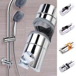 Justerbar duschhuvudhållare för glidstång Krom duschstång A(dia:25)