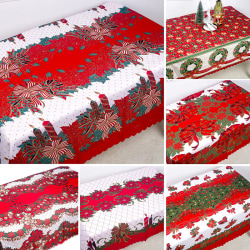 Julduk Bomull Dammtät bordsöverdrag Xmas-bord C D