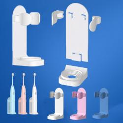 Mode Elektrisk tandborstehållare Väggfäste Badrum Tandbru Pink