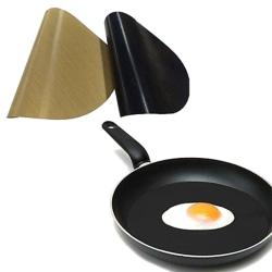 Stekpannfodral Non-Stick Liner För stekpanna Fry Bacon Egg H