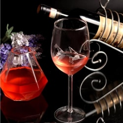 Glass vinglas haj rött vin glas hög häl rött vinglas 22