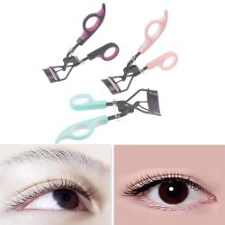Handtag Curl Eye Lash Kosmetisk Makeup Eyelash Curler Curling Twe Purple