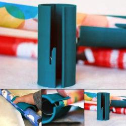 Varma skärverktyg Glidande pappersskärare Blue
