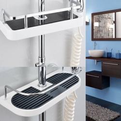 Icke-borrad duschhållare med dusch, justerbar höjd på soa A