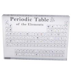 Periodisk tabellvisning med riktiga element Kids Teaching School A