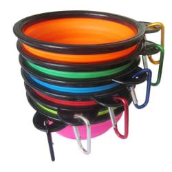 Pet Bowl Folding Silicone Travel Dog Bowls Portable Bowl For Pe