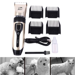 Pet Dog Cat Grooming Clippers Hårtrimmer Groomer Rakapparat one size