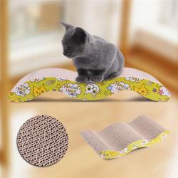 Scratcher med Catnip Cat Lounge Handgjorda katter Kattunge Scratchin onesize