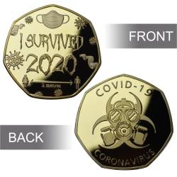 2020 The Commemorative Coin Collection Presenter Memento-medalj