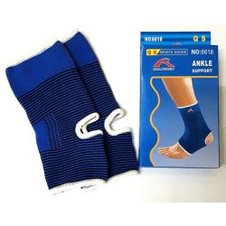 Elastiska Fotledsskydd/stöd för fotled, ankel, vrist (BLÅ) Blå one size