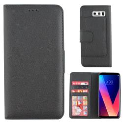 Colorfone LG V30 Plånboksfodral (Svart) Svart