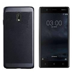 Colorfone Nokia 3 Skal Med Hål (Svart) Svart